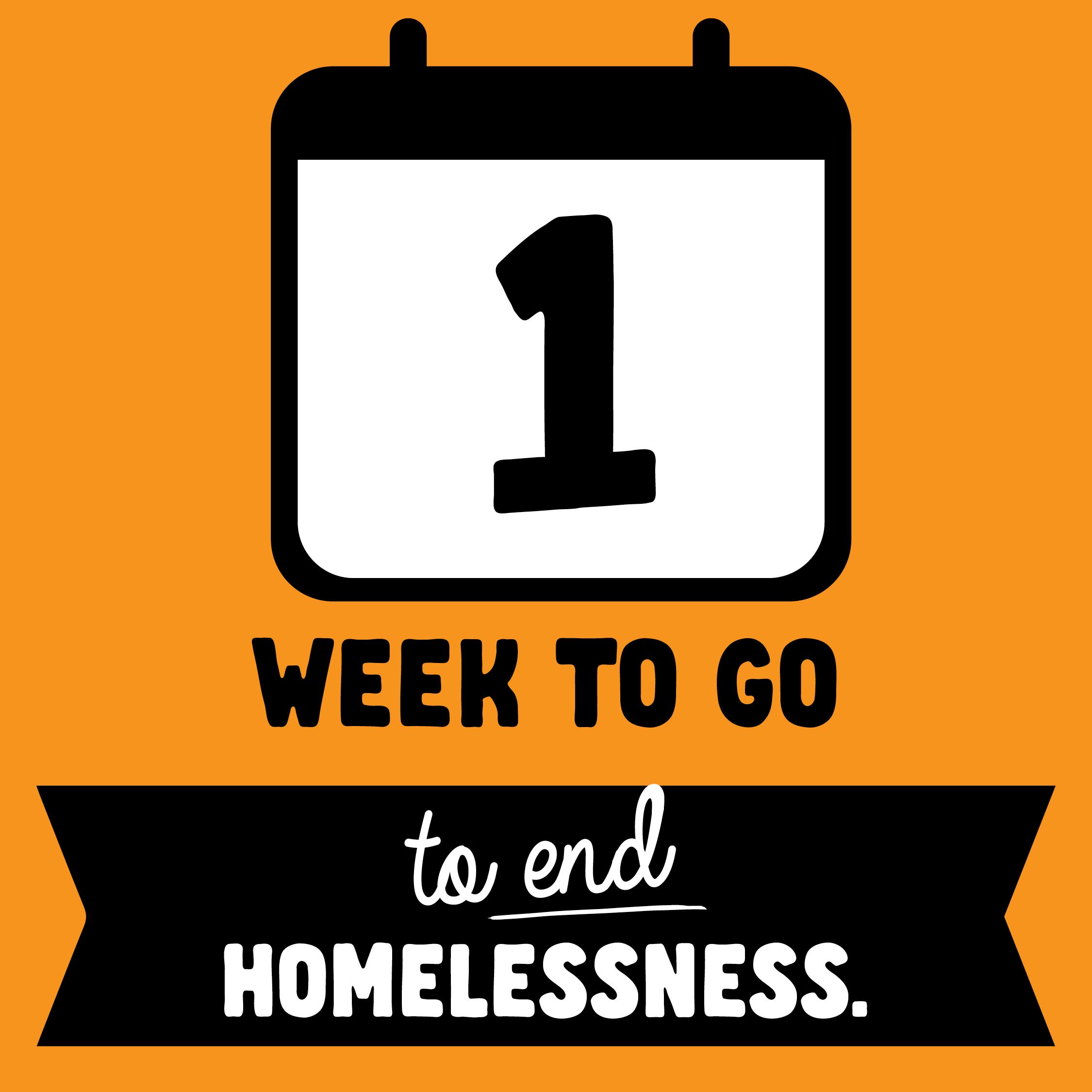 Social Tile - 1 Week to Go